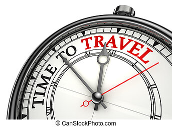 voyage, concept, pointeuse