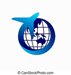 voyage, conception, logo