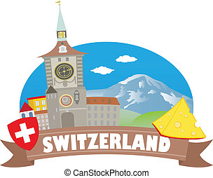 voyage, switzerland., tourisme