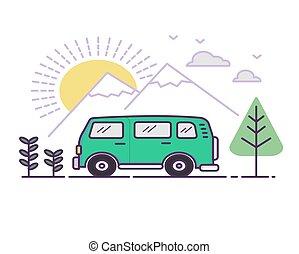 voyage, voiture