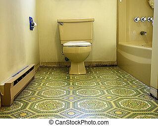 voyant, salle bains
