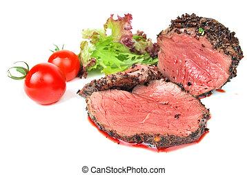 voyante, viande