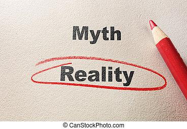 vs, mythe, réalité