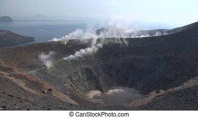 vulcano, 04, cratère