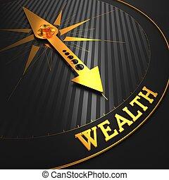 wealth., arrière-plan., business