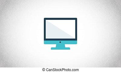 weareable, animation, vidéo, conception, icône