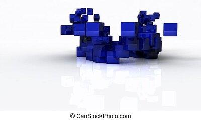 webinar, faire, cubes