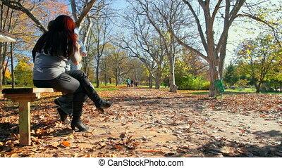 week-end, parc, famille