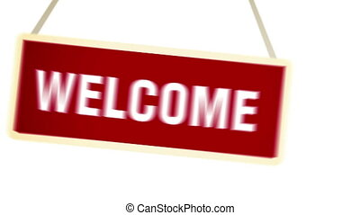 """"""", """"welcome, banner."""