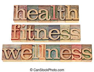 wellness, fitness, santé