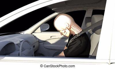 whiplash, accident voiture