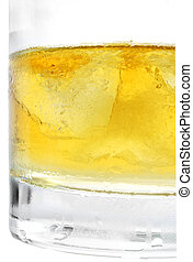 whisky, acculé