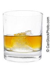 whisky, isolé, culbuteur