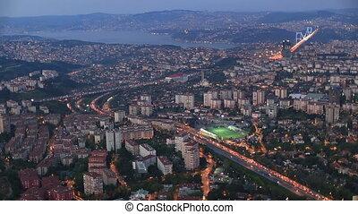 wiev, aérien, istanbul