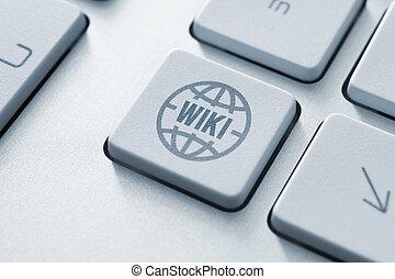 wiki, bouton