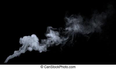 wispy, fumées, meute