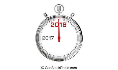 (with, matte), 2018, année, chronomètre, nouveau