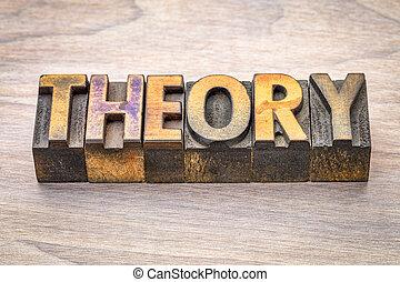woodtype, mot, théorie, résumé
