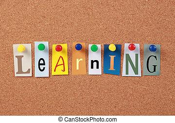 word unique, apprentissage