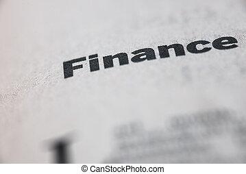 word unique, finance