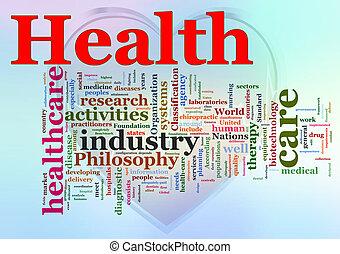 wordcloud, healthcare