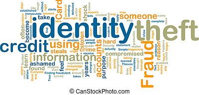 wordcloud, vol identité