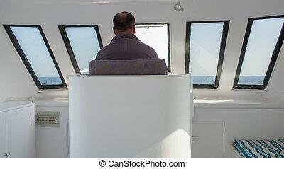 yacht, conduite