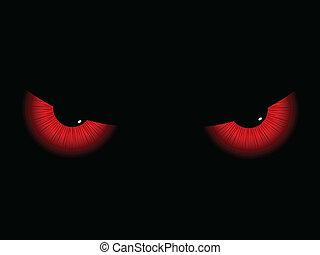 yeux, mal