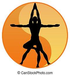 yoga, équilibre