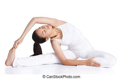 yoga, exercisme