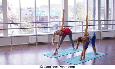 yoga, séquence