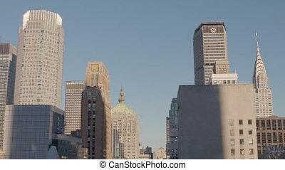 york, empire, ville, état, nouveau, bâtiment, usa