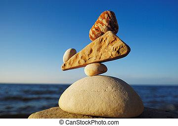 zen-comme, équilibre
