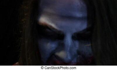 zombi, métrage, sans, effets
