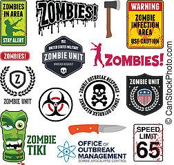 zombi, signes
