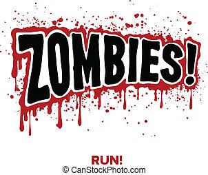 zombi, texte