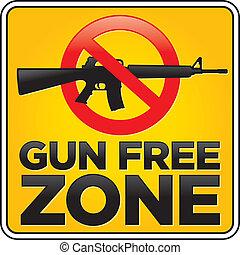 zone, fusil, gratuite, signe, fusil assaut