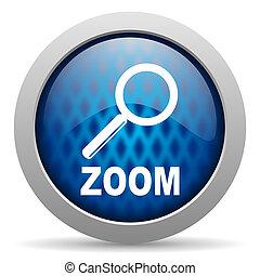 zoom, icône